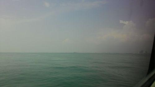 Sesaat sebelum kapal merapat di Pelabuhan Malaka